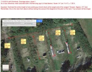 7-12-2015 Jeff Chimileski, satellite view, pistol range drainage plans, sheet 1